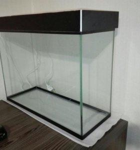 Новый аквариум 50 литров