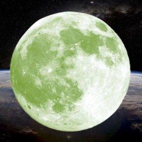 Светящаяся луна на потолок, стены