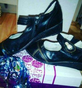 Туфли черные ,легкие .Оплата наличными!