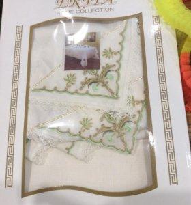Скатерть текстиль +12 салфеток