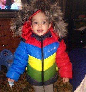 Куртка на мальчика 2-3 года