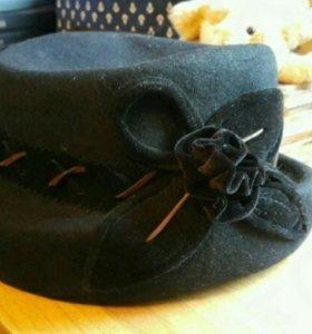 Шляпка женская 55-56 бу