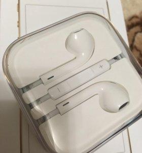 Новые Apple EarPods оригинал