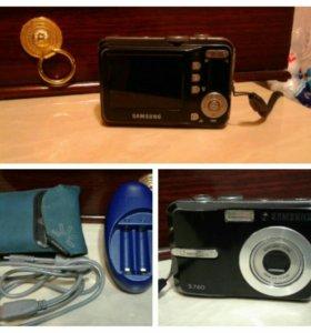 Цифровой фотоаппарат самсунг.(торг)