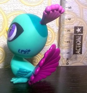 Peacock Littlest Pet Shop Geberation 4