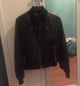 Кожаная куртка настоящая