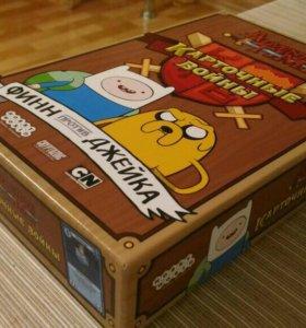 Adventure time Карточные войны.