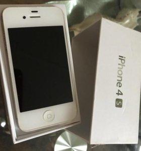Phone 4s 16gb Белый White Оригинал Новый Гарантия