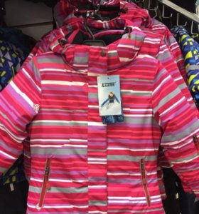 Зимняя куртка для дев Kalborn на 3,5,7 лет