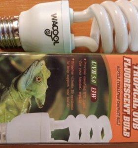 Лампа для террариума WACOOL UVB 5.0 13Вт