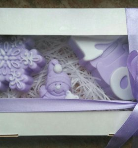 Подарочные наборы новогоднего мыла