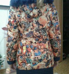 Куртка(пальто) зимняя