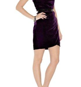 Женское бархатное платье Karen Millen
