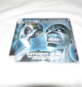 Iron maiden - different world dvd single