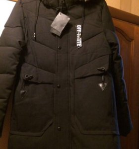 Молодёжная зимняя куртка НОВАЯ