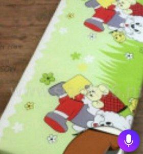 Новый матрас в кроватку 120*60*10