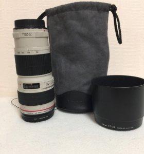 Объектив Canon 70-200 mm f/4L USM