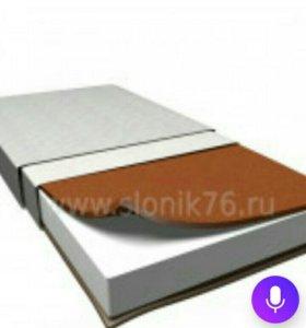Новый матрасик в кроватку 120*60*12
