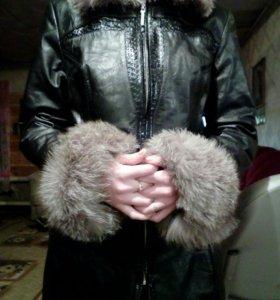 Куртка зима- весна,натуральн.р 50