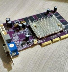 Видеокарта AGP FX5200
