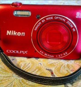 Цифровой фотоаппарат nikon coolpix S3700