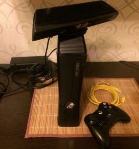 Xbox 360 Slim Freeboot, 320 Gb, Kinect