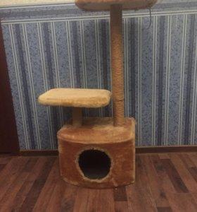 Кошачий домик , когтеточка