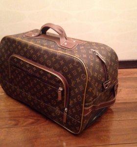 Чемодан - сумка с колёсами ручная кладь