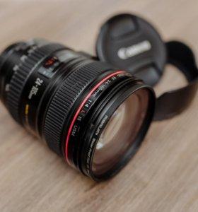 Объектив Canon 24-105 f4 is usm L