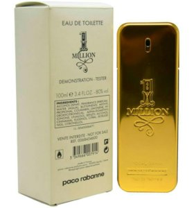 ОРИГИНАЛ Paco Rabanne 1 Million 100 ml ТЕСТЕР
