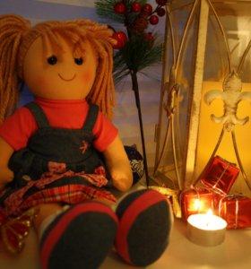 Куклы мягкие ручной работы куклы текстильные