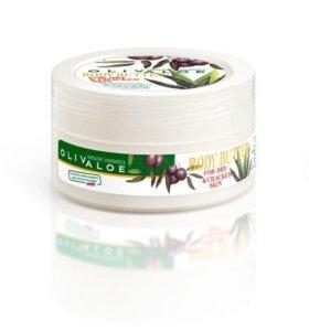 Крем-масло для сухой потрескавшейся кожи OlivAloe