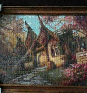 Картина. Алмазная мозаика