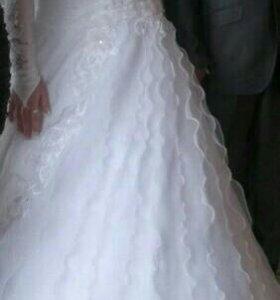 Свадебное платье большого размера 54 и больше