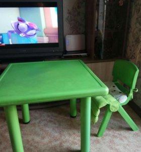 Дет.стол и стульчик