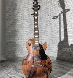 Электрогитара Gibson Les Paul Faded Worn Brown