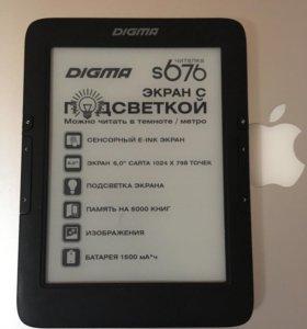 Электронная книга дигма 676