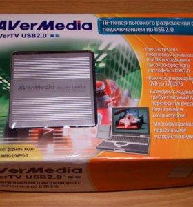 Тв-тюнер AverMedia AverTV USB 2.0