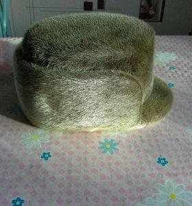 Шапка - кепка из нерпы