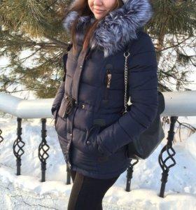 Зимняя женская куртка -парка