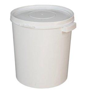 Ведро пластиковое с крышкой, 30-33 литра