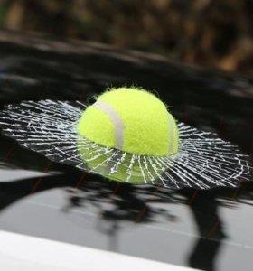 """Наклейка на авто """"теннисный мяч"""""""