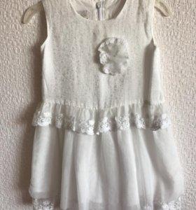 Белоснежное платье Снежинки