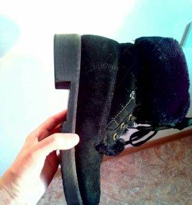 Ботинки с мехом