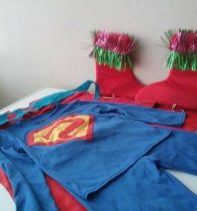 Костюм супермена от 5 до 7лет