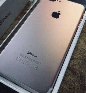 Продам айфон 7plus Rose Gold 128gb
