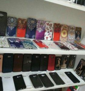 Чехлы на самсунг, айфон, xiaomi и другие модели.