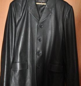 Пиджак мужской натуральная кожа