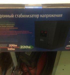 Электронный стабилизатор напряжения 220 вольт, 5кв