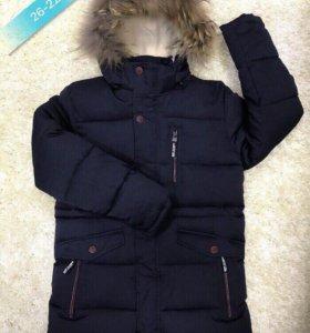Куртка-парка на рост 158